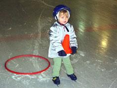 premiers pas sur la glace